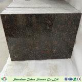 Matériau de construction en pierre naturelle indien Tan Brown Granit de Tuiles Tuiles/Comptoirs/mur/Flooring/vanité Haut de page