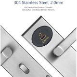 Lockset electrónico digital con U. S estándar, 5 el pestillo balseta