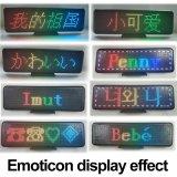 Rapporto completo dritto da tavolino dello schermo a colori dell'automobile LED della tazza di aspirazione di adsorbimento del magnete della sospensione di P4.75-16X64RGB