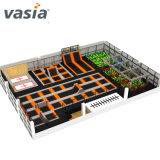 Vente chaude Vasia Gymanstic Trampoline Parc commercial intérieur