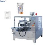 Sac de gel de silice de pesage à fonctionnement automatique machine de conditionnement avec tasse à mesurer