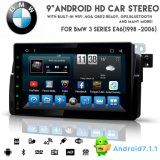 Audio dell'automobile DVD del Android 8.1 di Otto-Memoria di Vshauto per BMW E46 1998-2006