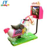 Divertissement 3D les courses de chevaux kiddie ride Machine de jeu