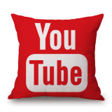 ホームDecor Cotton Linen DIGITAL Printed Throw Pillow Case (35C0131)