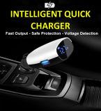 Alquiler de accesorios de carga doble USB Adaptador de cargador de coche 2 Puerto USB 3.1A LED Smart Car Charger for iPhone