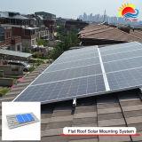 Toit de tuiles d'accueil Système de rayonnage solaire PV Structure de montage sur panneau