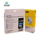 Custom пластиковые окна телефона USB зарядное устройство на упаковку проволоки .