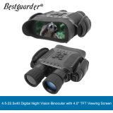 Bestguarder 4.5-22.5 X 40 Digital Night visão binocular com visor TFT de 4'' até 400m