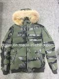 Mens Fashion hiver Veste à capuche Rembourrage de haute qualité