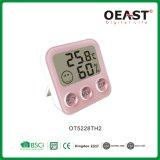 2018表面慰めの新しいデザイン表の世帯の温度計の湿度計はOt5228th2を明記する