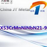 X53crmnninbn21-9 de Leverancier van China van de Plaat van de Pijp van de Staaf van het Staal van de legering