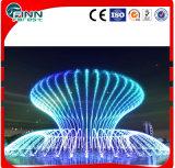 Fuente de interior o al aire libre con los colores de luz LED
