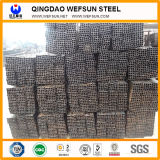 Venta caliente Material de construcción Black Square Steel Pipe