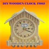 Houten Klassieke Klok DIY (F003)