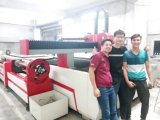 Machine de découpage de laser de fibre de haute précision pour le feuillard et le tube de pipe