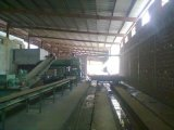 Four tunnel de l'argile machine à fabriquer des briques