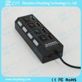 4 эпицентр деятельности 2.0 USB переключателей 4 СИД 4 Port (ZYF4231)