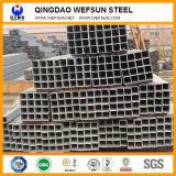 Material de construcción Venta caliente Tubo de acero cuadrado negro.