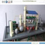 蒸留装置の精錬によって使用されるオイル