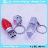 Movimentação do flash do USB do bulbo de lâmpada dos acrílicos da decoração do festival (ZYF1532)