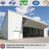 Sinoacmeは航空機の格納庫のための鉄骨構造の建物を組立て式に作った