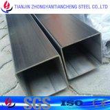 1.4301 pipe de grand dos de l'acier inoxydable 1.4404 dans des tailles carrées de pipe