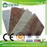 Tarjeta del panel decorativa material laminada de alta presión
