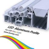 Perfil de alumínio de LED para a faixa de LED, perfil de alumínio use fita LED