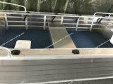 Большая шлюпка алюминиевого сплава материальная для рыболовства