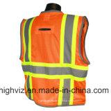 Chaleco de la seguridad con el estándar ANSI107 (C2027)