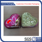Bandeja disponible del plástico de Chocelate de la dimensión de una variable del corazón