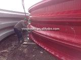 240의 색깔 강철 긴 경간 아치 모양 기계를 형성하는 강철 지붕 건물 롤
