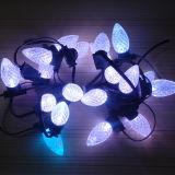flexión de neón solar de la luz LED del árbol de navidad de los 20m LED
