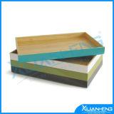 Eco-Friendly 래커를 칠한 대나무 서빙 쟁반