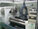 중국 CNC 선반 기계 편평한 침대 CNC 선반 시멘스 Ck6163