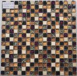 Mosaico del vidrio del azulejo de la pared del cuarto de baño