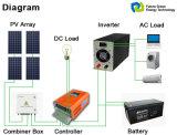 Sistema de energia para casa fora do inversor solar de poder seno puro Grid