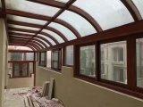 Vidrio transparente templado laminado doble edificio para Sunroom