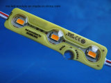 노란 모듈 3chips 5730SMD 1.2W의 세륨은 12V LED 모듈을 방수 처리한다