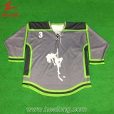 Hockey sur glace 100% de sublimation de Cutomized de polyester plein Jersey
