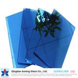 Hoja/vidrio de flotador reflexivo aislado para el vidrio decorativo del vidrio/edificio