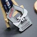 卸売のためのJiabo亜鉛合金の骨董品の青銅の金属のTriathlonメダル