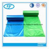 Sac d'ordures multicolore de plastiques de LDPE/HDPE
