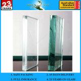 При размещении всех детей 3-19мм Ultra Clear закаленного стекла с AS/NZS2208: 1996