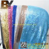 Cortina de porta de tecido de lantejoulas de metal