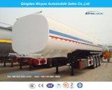 3 Oplegger van de Tanker van het Volume 50000L van de as de Grote of Aanhangwagen van de Vrachtwagen van de Brandstof de Semi