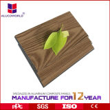 Placas de madeira de venda quentes do composto do ACP do granito