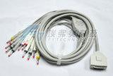 福田10の鉛EKG/ECGケーブル4.0 Pin