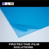 Blaues transparentes Film PET schützender Film für Plastikblatt