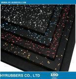 Alta calidad del azulejo Zona de juegos de goma, Gimnasio goma Azulejos, Gimnasio estera del piso